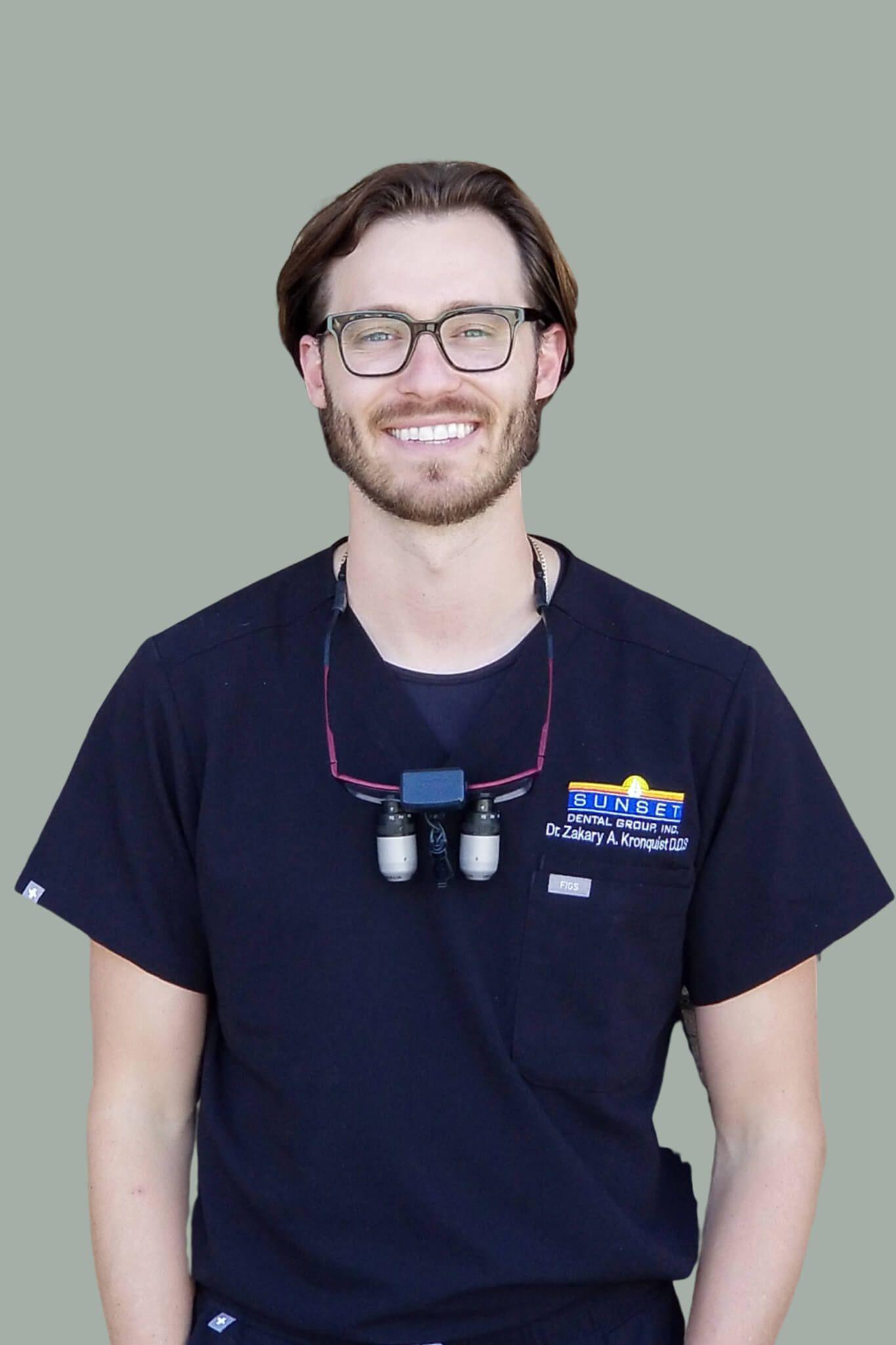 Dr  Zakary Adam Kronquist, DDS » Santa Ana, CA - Sunset Dental Group